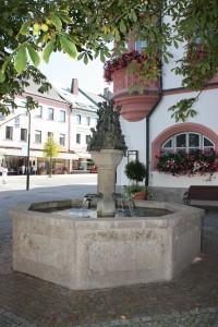Rathausbrunnen Hof