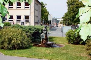 Wasserschütterin Schwarzenbach/Saale